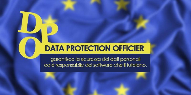 DPO - Data Protection Officier, è una figura dell'ambito GDPR che garantisce la sicurezza dei dati personali.