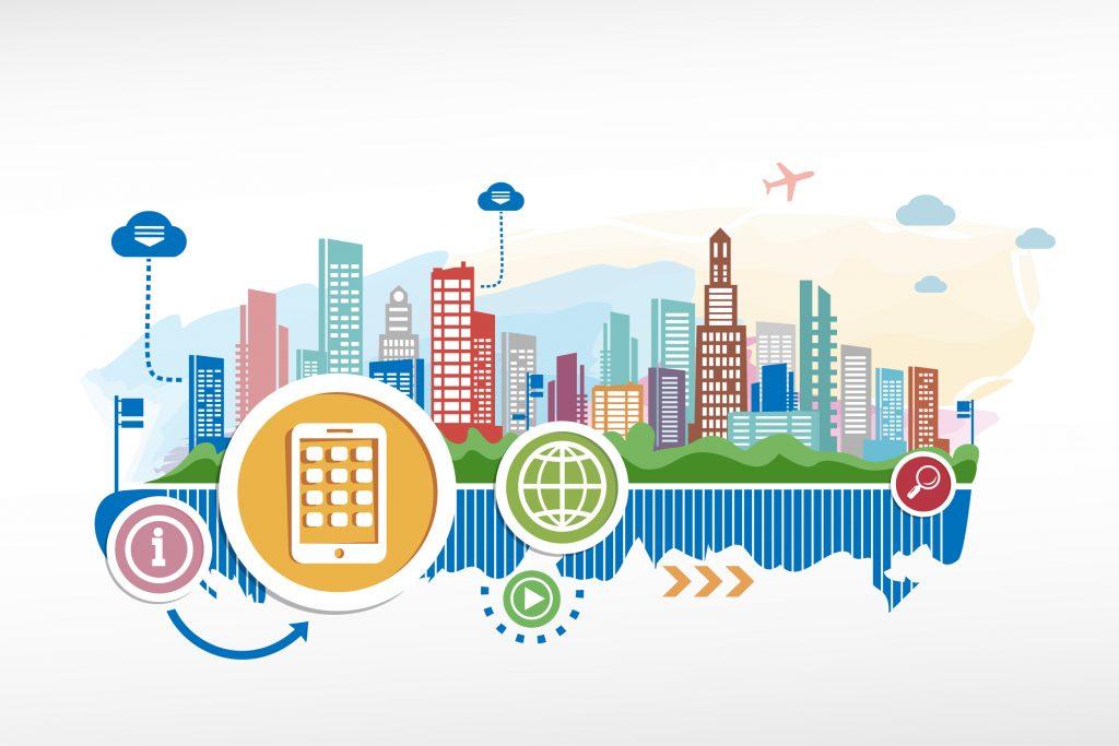 IoT e smart cities: maggior controllo su trasporto, traffico, comunicazione.